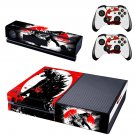 Dinosaur design skin for Xbox one decal sticker console