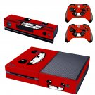 Nintendo smile design skin for Xbox one decal sticker console