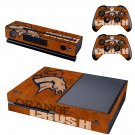 Orange Crush design skin for Xbox one decal sticker console