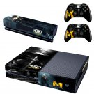 Metro Last Night design skin for Xbox one decal sticker console