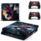 Spider man Design decal for PS4 console skin sticker decal-design