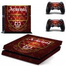 Arsenal Design decal for PS4 console skin sticker decal-design