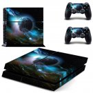 Galaxy Planet design decal for PS4 console skin sticker decal-design