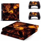 Vegeta design decal for PS4 console skin sticker decal-design