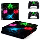 Playstation design decal for PS4 console skin sticker decal-design