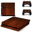 Wooden Board design decal for PS4 console skin sticker decal-design