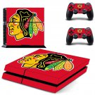 Blackhawks Decal design decal for PS4 console skin sticker decal-design