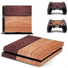 Twice Wooden Color design decal for PS4 console skin sticker decal-design
