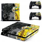 Dragon Ball Z Goku design decal for PS4 console skin sticker decal-design