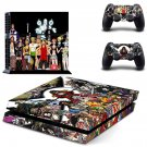 One Piece wallpaper design decal for PS4 console skin sticker decal-design