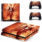 Cool Devil design decal for PS4 console skin sticker decal-design