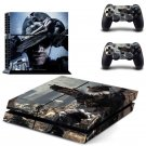 Call fo Duty Ghosts design decal for PS4 console skin sticker decal-design