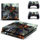 Transformer design decal for PS4 console skin sticker decal-design