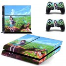 Leeroy rouge design decal for PS4 console skin sticker decal-design