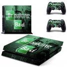 Breaking Bad design decal for PS4 console skin sticker decal-design