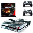 Ninja Gaiden design decal for PS4 console skin sticker decal-design