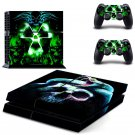 Toxic background design decal for PS4 console skin sticker decal-design
