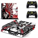 CM Punk design decal for PS4 console skin sticker decal-design