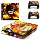 Dragon Ball super banner design decal for PS4 console skin sticker decal-design