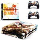 Dead Island design decal for PS4 console skin sticker decal-design