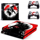 Dinosaur design decal for PS4 console skin sticker decal-design