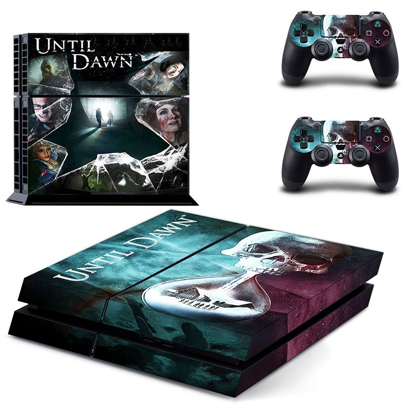 Until Dawn design decal for PS4 console skin sticker decal-design