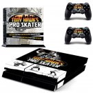 Tony Hawk's pro skater design decal for PS4 console skin sticker decal-design