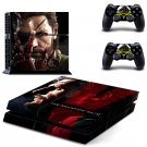 The Phantom Pain design decal for PS4 console skin sticker decal-design