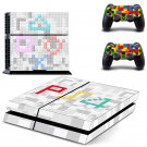 Lego Blocks design decal for PS4 console skin sticker decal-design