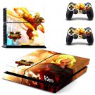 Street Fight Ryu design decal for PS4 console skin sticker decal-design