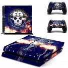 Fear Factory design decal for PS4 console skin sticker decal-design