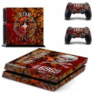 Star Cityzen design decal for PS4 console skin sticker decal-design