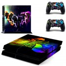 Rainbow Dash Special design decal for PS4 console skin sticker decal-design