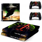 The First Order Rule the Galaxy design decal for PS4 console skin sticker decal-design