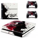 Hero Alliance design decal for PS4 console skin sticker decal-design