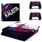 Kalista design decal for PS4 console skin sticker decal-design