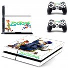 Zootopia design decal for PS4 console skin sticker decal-design