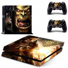 Warcraft 3 Frozen Throne design decal for PS4 console skin sticker decal-design