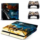 Metro last night design decal for PS4 console skin sticker decal-design