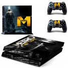 MetroxX design decal for PS4 console skin sticker decal-design