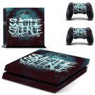 Suicide design decal for PS4 console skin sticker decal-design