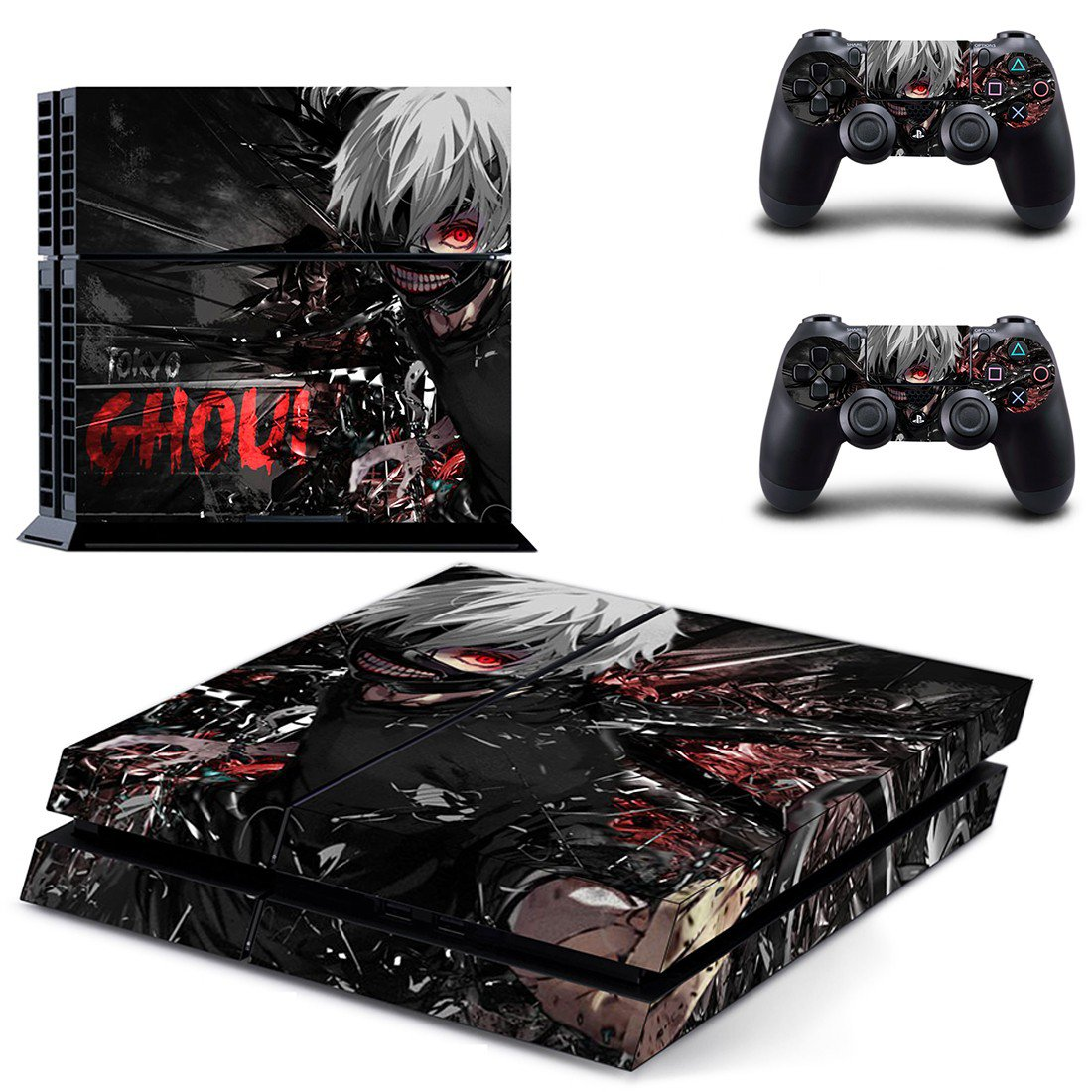 Tokyo ghoul design decal for PS4 console skin sticker decal-design