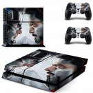 Captain america civil war decal for PS4 PlayStation 4 console and 2 controllers