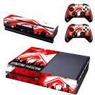 Spartak Moscow skin decal for  Xbox one console and 2 controllers
