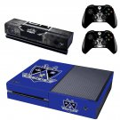 Los Angeles Kings skin decal for  Xbox one console and 2 controllers