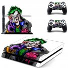 Joker decal for PS4 PlayStation 4 console and 2 controllers
