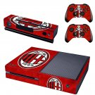 ACM Milan 1899 skin decal for  Xbox one console and 2 controllers