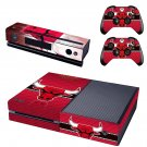 Chicago Bulls skin decal for  Xbox one console and 2 controllers