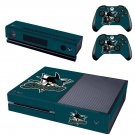 Cronulla-Sutherland Sharks skin decal for  Xbox one console and 2 controllers