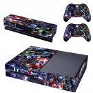 Avengers Age of Ultron skin decal for  Xbox one console and 2 controllers